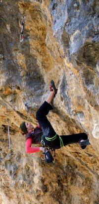 -- La jeune grimpeuse Chalonnaise--