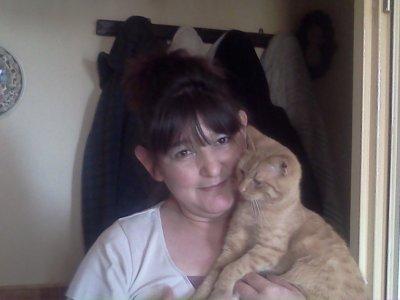 ma maman et un des chat
