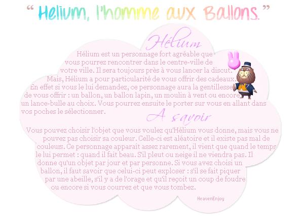 _ Hélium L'Homme aux Ballons _
