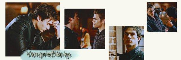 #ARTICLE 2 -  Damon en colère dans la saison 4 /  ACTEURS(RICES) sur Twitter .