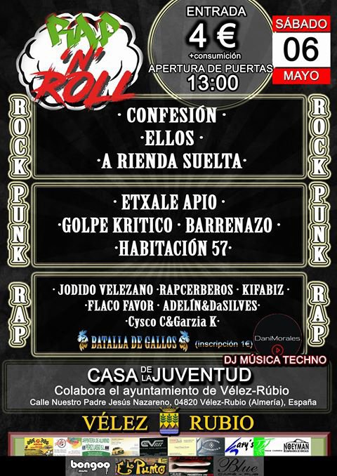 """Rap n' Roll"" Festival le 6 Mai"