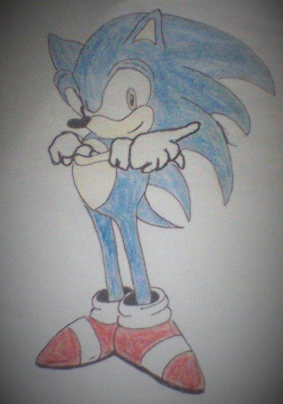 Voici Sonic !!!