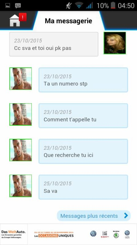 Attention mdr