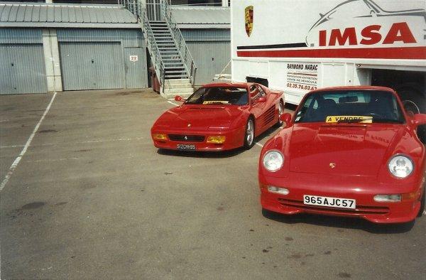 quelques photos de superbes voitures prises au circuit du Mans et même quelques voitures a vendre mais bien sûr hors de prix !!!!!