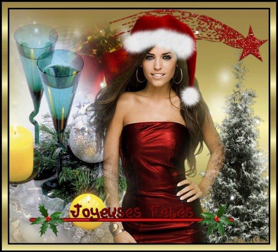 je vous souhaite de très bonne fêtes à vous tous amusez vous bien mais avec modération bien sûr !!