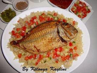 thiébou dieune  riz 🍚  aux Poisson 🐟