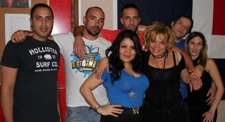 L'équipe du Mami Chula Show-radio bachata-dominicana