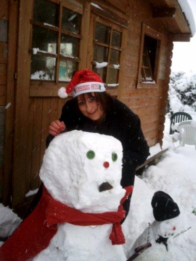 bonhomme de neige!