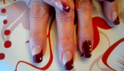 1er pose . Faux-ongles
