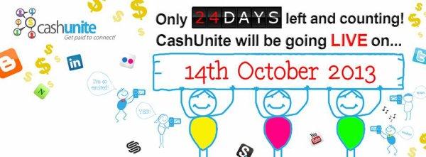 CASHUNITE LANCEMENT DANS 28 JOURS !!