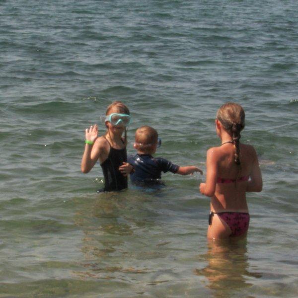 Encore une journée plage avec les cousines !