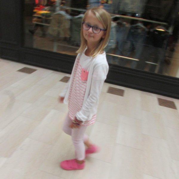 Retour à Caen...il pleut...shopping pour trouver les cadeaux d'anniv de papa et Méline
