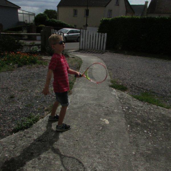 Un peu de tennis !