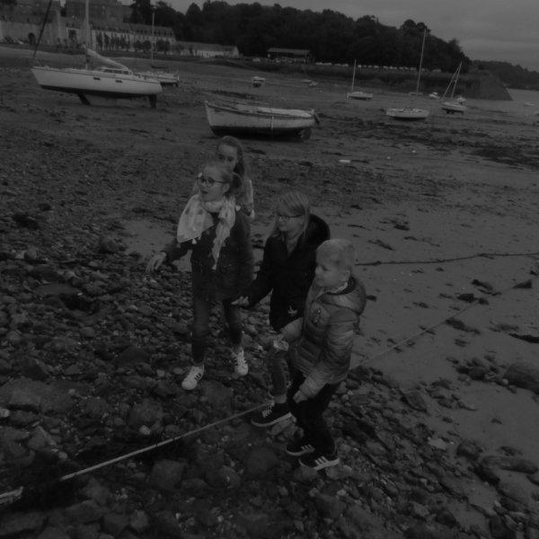 Balade au bord de mer...crabes mes z'amis..fuyez !