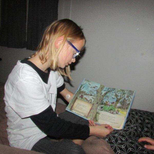 Bonsoir ! Jeux avec maman et lecture avec Méline. Une fin de journée sympathique