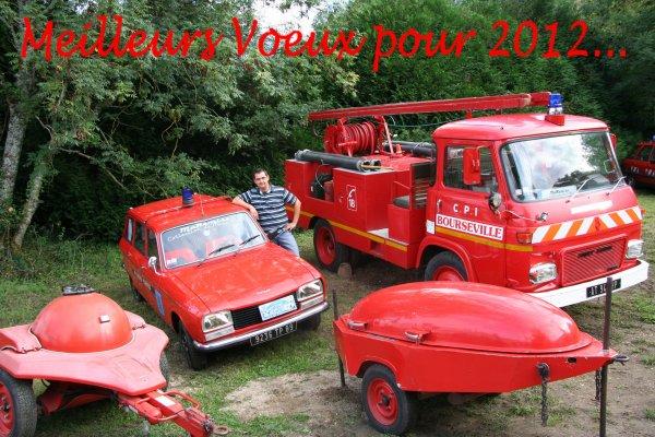 Meilleurs Voeux pour 2012...