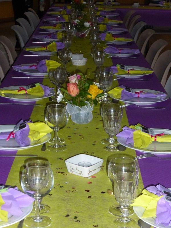 d 233 co de table pour des noces d or juillet 2014 de lespassionsdezazou