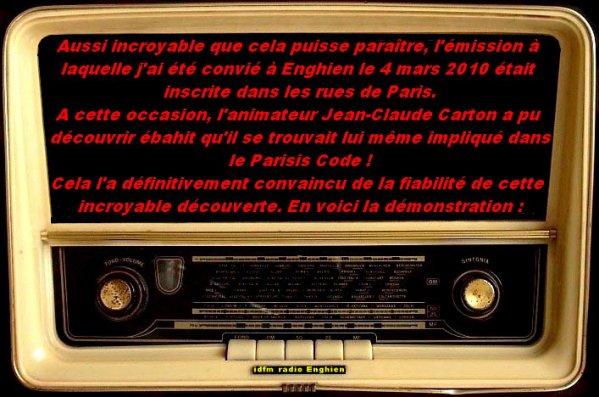 UNE EMISSION DE RADIO PREDESTINEE !