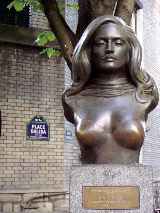 Dalida dans le Code... (extrait du Tome 4) Paris Capital du Destin.