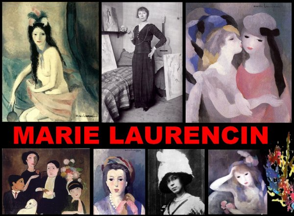 MARIE LAURENCIN, PEINTRE....