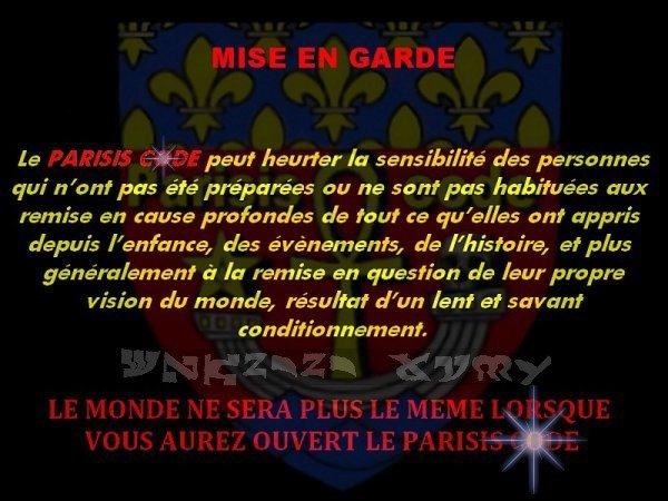 IL EST DANS LE PARISIS CODE ! (dans le prochain tome)...