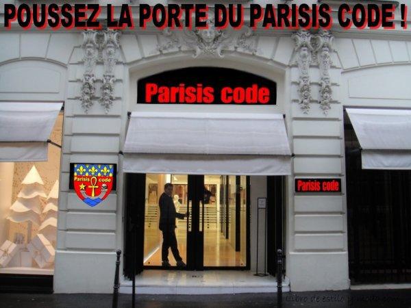 PARISIS CODE, tome 4 : PARIS, Capitale du Destin