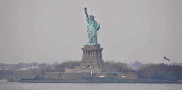 NEW-YORK CITY VUE DEPUIS LES YEUX D'ISIS