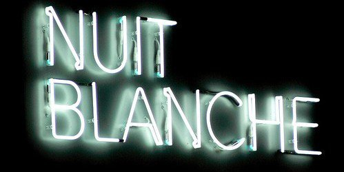 """NUIT BLANCHE - PROJET """" GRAND OEIL"""""""