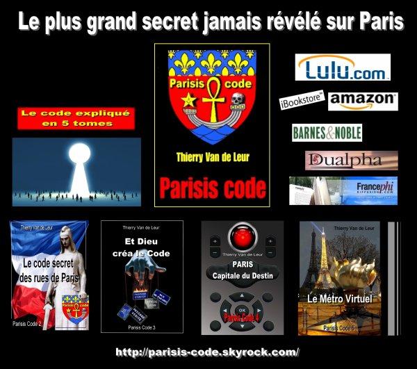 PARISIS CODE : LE GRAND SECRET DE PARIS