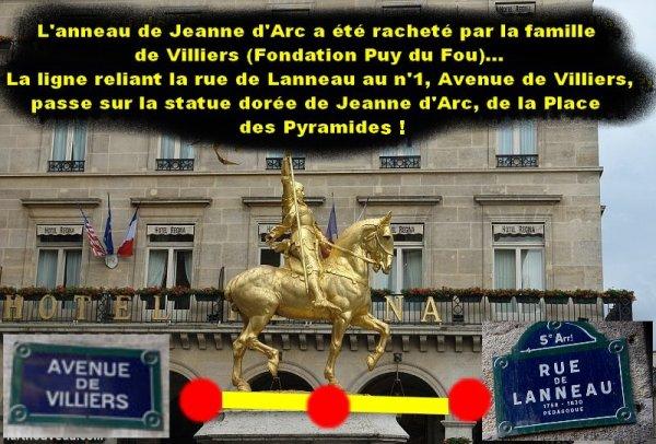 L'ANNEAU DE JEANNE D'ARC dans le Parisis Code.