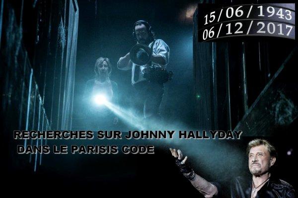 RECHERCHES SUR JOHNNY HALLYDAY DANS LE CODE....