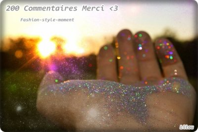 200 Commentaires ?