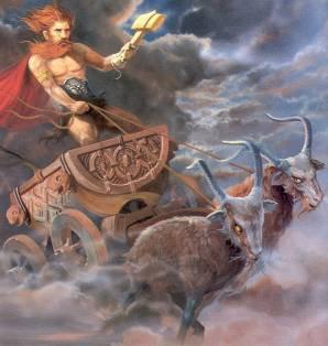 MYTHOLOGIE   SCANDINAVE :  LES  DIEUX   SCANDINAVES