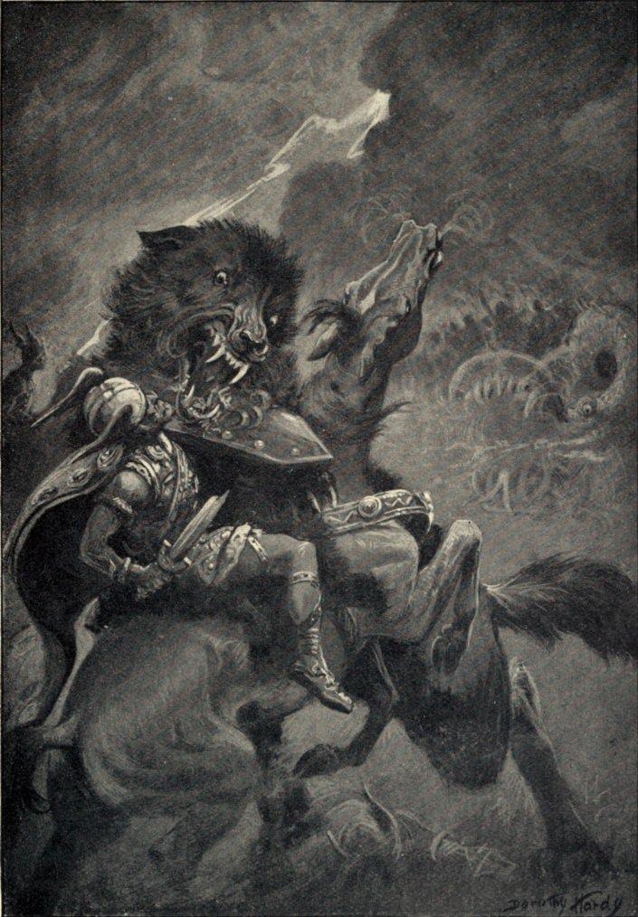 MYTHOLOGIE  SCANDINAVE:  Les dieux scandinaves