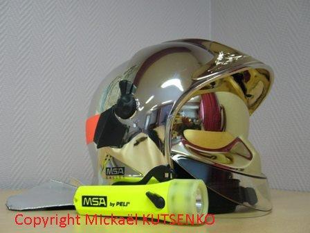 Mon Casque F1 de Pompier