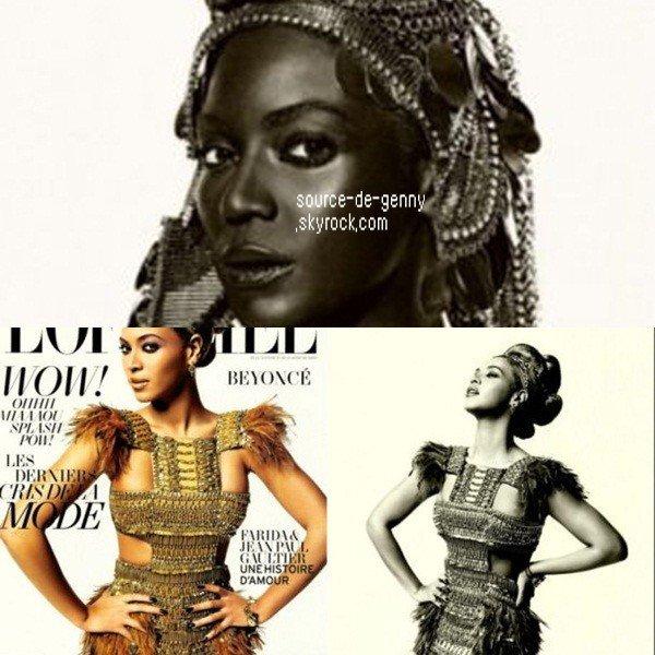 Beyonce: African queen! - 2011-03-18