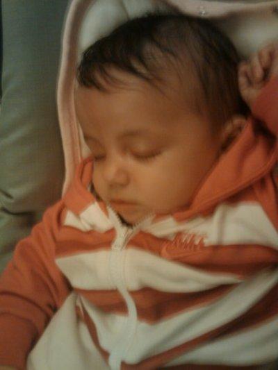 ma fille etant bebe