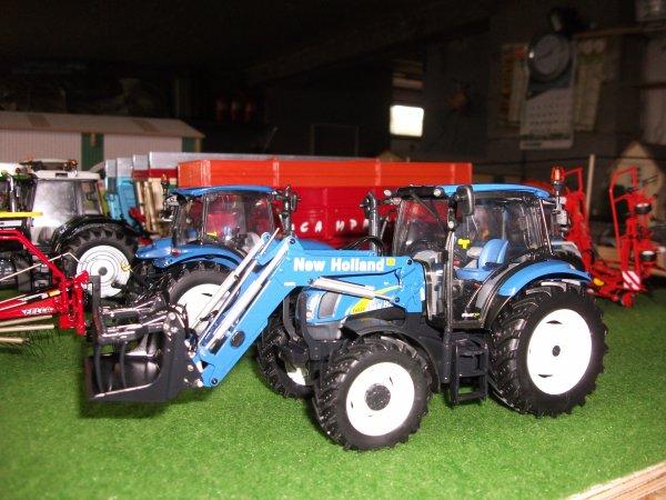 nouveau new halland t 6020 avec le chargeur bleu