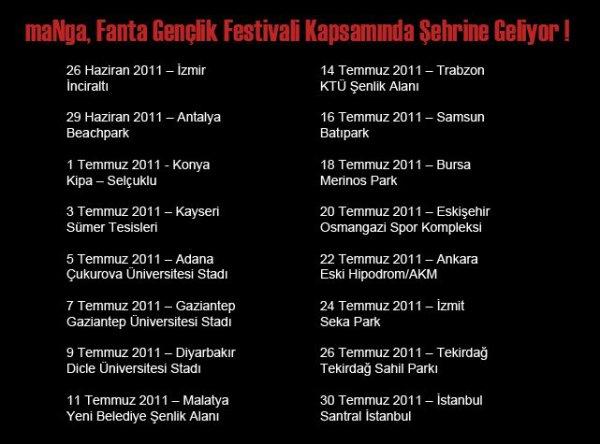 maNga - Fanta Festivali 2011