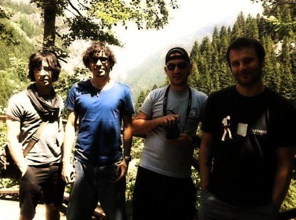 Une petite photo du groupe à Tabzon (Turquie)