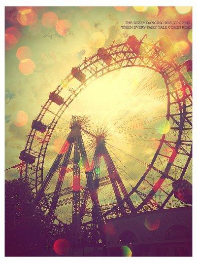 Les grandes roues... Une attraction, une vue, une grandeur, une beauté...