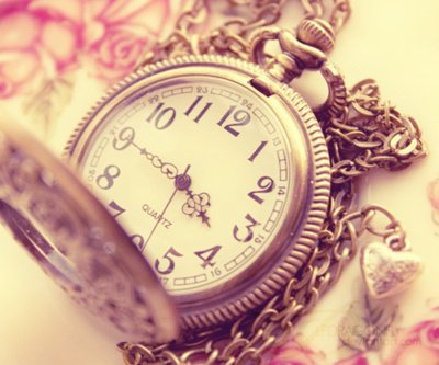 Le temps est une des une rares choses que l'on peut controler