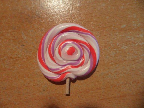 Lollipop fraise