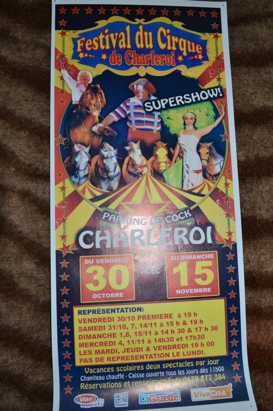 Affiches Festival d'Anvers et Charleroi Belgique