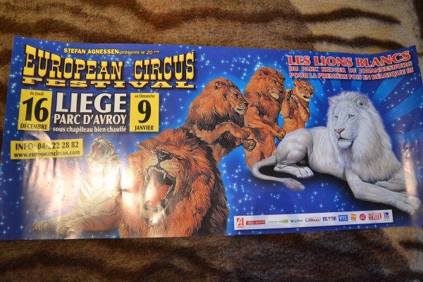 Affiches European Circus Festival Belgique