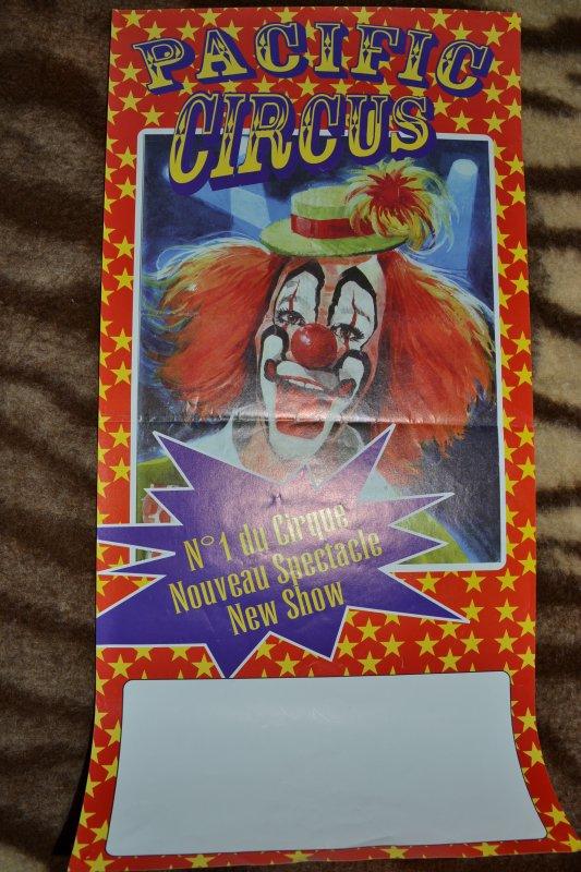Affiche Pacific Circus Famille Prein