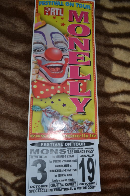 Circus Monelly Belgique 2005/2006/2008