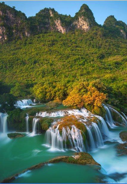 Na Hau Nature reserve in Vietnam