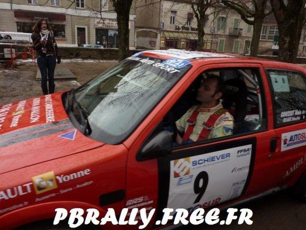 **J-4 avant le rallye Avallonnais**
