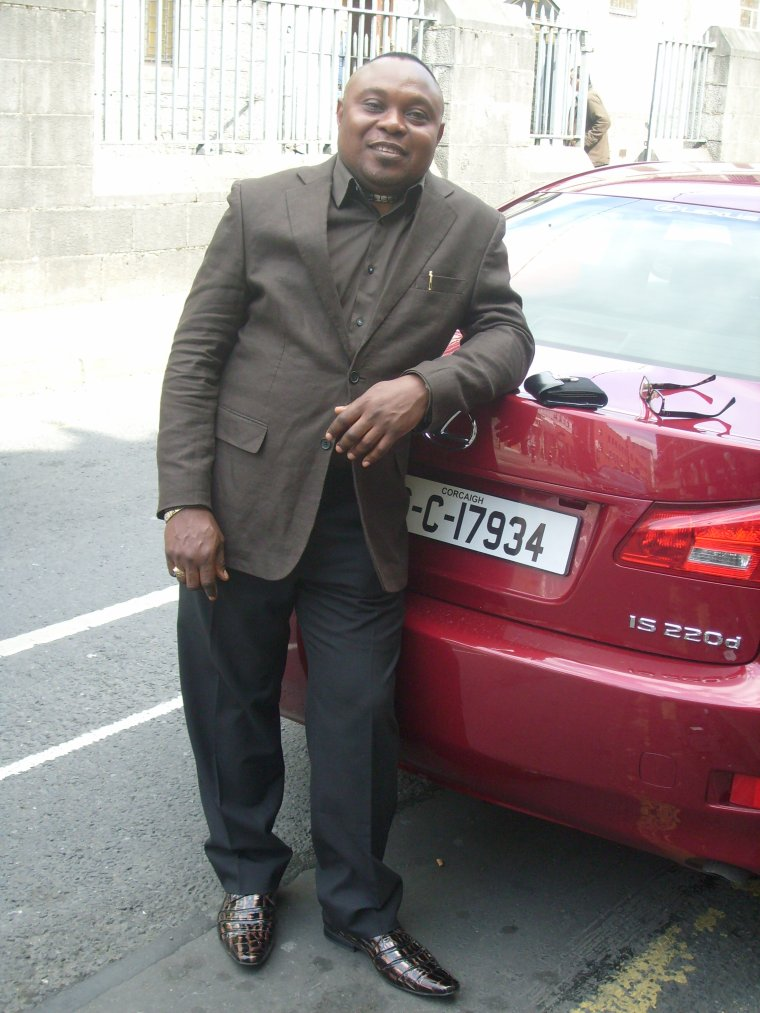 LIVING UNDER A LORD:josue watumua kua nzambi in his presence in Ireland republic.